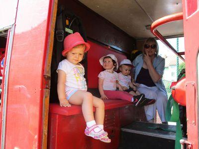 Galeria Wizyta strażaków z OSP